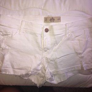 Women's white denim shorts size 13